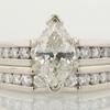 1.08 ct. Marquise Cut Bridal Set Ring #1