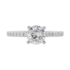 1.25 ct. Round Cut Ring, H, SI2 #3