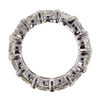 Round Cut Eternity Band Ring #3