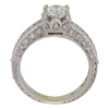 1.0 ct. Oval Cut Solitaire Ring, F, SI2 #4