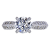 1.17 ct. Round Cut Solitaire Ring, F, VS1 #3