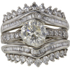 1.90 ct. Round Cut Bridal Set Ring #3