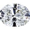 4.12 ct. Oval Cut Loose Diamond, G, SI1 #1
