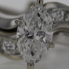 .97 ct. Marquise Cut Bridal Set Ring #3