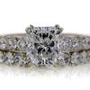 1.71 ct. Radiant Cut Bridal Set Ring #1