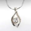 .93 ct. Round Cut Pendant Necklace #2