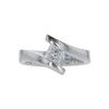 1.01 ct. Princess Cut Solitaire Ring, I, VS1 #2