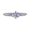 0.61 ct. Round Cut Solitaire Tiffany & Co. Ring, F, VVS2 #3