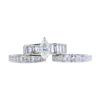 1.10 ct. Marquise Cut Bridal Set Ring, I-J, SI2 #2