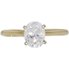 1.0 ct. Oval Cut Solitaire Ring, E, SI2 #3