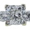 1.01 ct. Cushion Cut 3 Stone Ring, H, VS2 #4