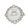 Round Cut Right Hand Tiffany & Co. Ring, White #2