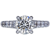 1.63 ct. Round Modified Brilliant Cut Solitaire Ring, J, SI2 #3