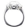2.47 ct. Oval Cut 3 Stone Ring, E, SI1 #2