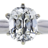 1.52 ct. Cushion Cut Bridal Set Ring, I, SI2 #4