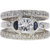 1.52 ct. Princess Cut Bridal Set Ring, J, VS2 #3