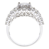 1.85 ct. Round Cut Bridal Set Ring, H-I, I2-I3 #2
