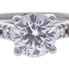 1.5 ct. Round Cut Solitaire Ring, D, I1 #4