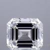 1.51 ct. Emerald Cut Bridal Set Ring, I, VVS2 #1