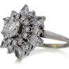 0.7 ct. Round Cut Right Hand Ring #3