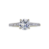 1.11 ct. Round Cut Solitaire Ring, I, I1 #3