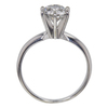 1.31 ct. Round Cut Solitaire Ring, H, I1 #4