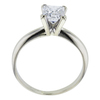 0.98 ct. Princess Cut Bridal Set Ring, E-F, I1 #3