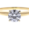 0.68 ct. Round Cut Bridal Set Ring, G, VS2 #4