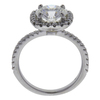 1.81 ct. Round Cut Halo Ring, I, SI1 #3