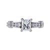 1.03 ct. Princess Cut Solitaire Ring, G, VS1 #3