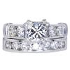 1.52 ct. Princess Cut Bridal Set Ring, H, SI2 #3