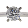 0.76 ct. Round Cut Solitaire Ring, G, VS2 #4