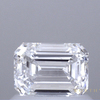 0.78 ct. Emerald Cut Solitaire Ring, D, VS1 #1