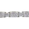 Princess Cut Link Bracelet, I-J, SI1-SI2 #1