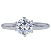 1.02 ct. Round Cut Solitaire Ring, G, VVS2 #1