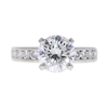 2.12 ct. Round Cut Bridal Set Ring, E, I1 #3