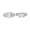 1.53 ct. Princess Cut Bridal Set Ring, I, SI1 #4