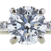 1.35 ct. Round Cut Solitaire Ring, H, VS1 #4