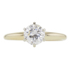 1.02 ct. Round Cut Solitaire Ring, G, VS1 #3
