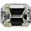 4.57 ct. Emerald Cut 3 Stone Ring, M-Z, VS2 #3
