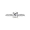 0.73 ct. Round Cut Solitaire Tiffany & Co. Ring, E, VS1 #1