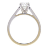 0.95 ct. Round Cut Ring, H-I, I1 #2