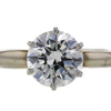 2.30 ct. Round Cut Solitaire Ring #3