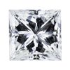 2.20 ct. Princess Cut Solitaire Ring, H, SI1 #3