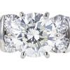 1.45 ct. Round Cut Bridal Set Ring, J, SI2 #4