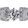 1.03 ct. Round Cut Solitaire Ring #3