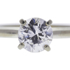 1.01 ct. Round Cut Solitaire Ring, G, I1 #4