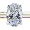 1.04 ct. Oval Cut Solitaire Ring, D, IF #1
