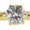 1.15 ct. Round Cut Bridal Set Ring, H-I, I2 #1