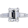 2.02 ct. Emerald Cut Solitaire Ring #3